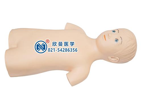 儿童股静脉与股动脉穿刺训练模拟人模型