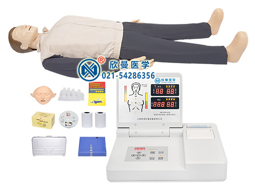 CPR490高级全自动电脑心肺复苏模拟人,人体模型