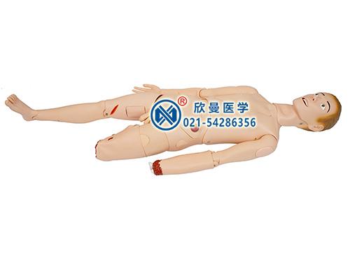 开放性伤口止血包扎仿真标准化病人模型