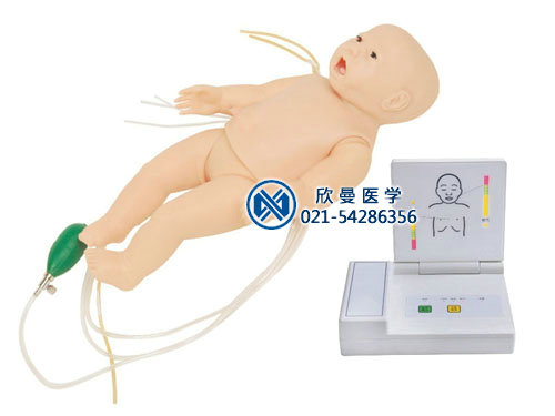 高级多功能新生儿综合急救训练模拟人