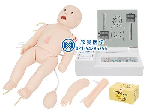 XM/CPR154新生儿心肺复苏模拟人,新生儿心肺复苏模型