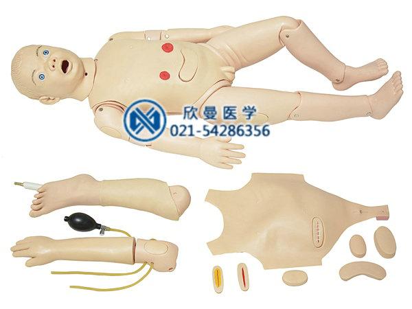 三岁儿童全功能护理模型