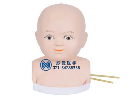 旋转式婴儿头皮静脉注射模型