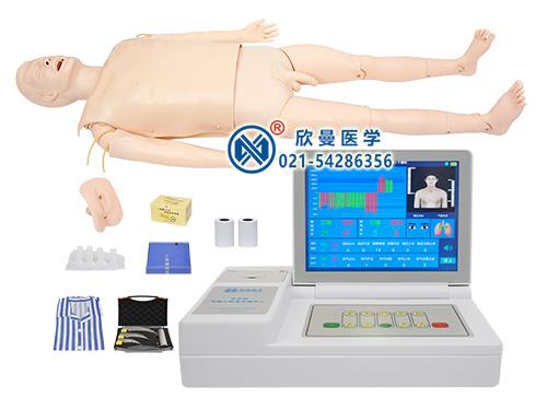 XM/ALS800高级心肺复苏与气管插管模拟人,多功能急救插管模拟人