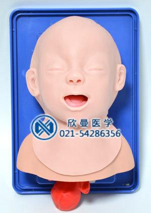 新生儿插管模型正面