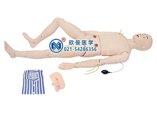 XM-HL9高级成人鼻腔吸痰及护理模型,模拟人