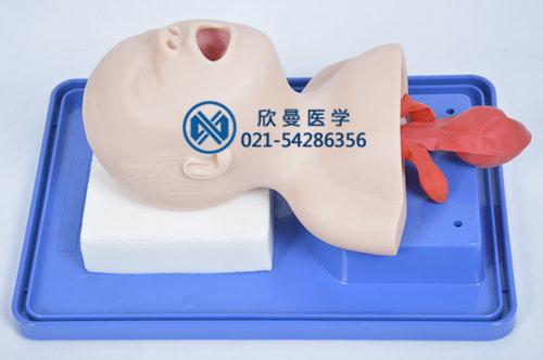 新生儿气管插管模型侧面