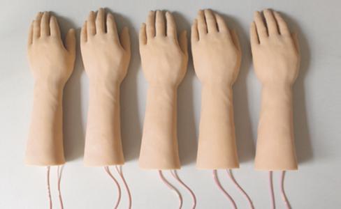 静脉输液 成套 仿真模型/图1:静脉输液手成套仿真模型