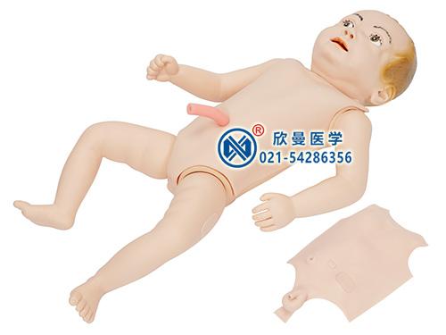 婴儿护理人模型整体结构