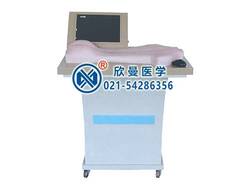 XM-ZC-D背部仿真穴位针灸练习和考试系统,背部针刺练习平台