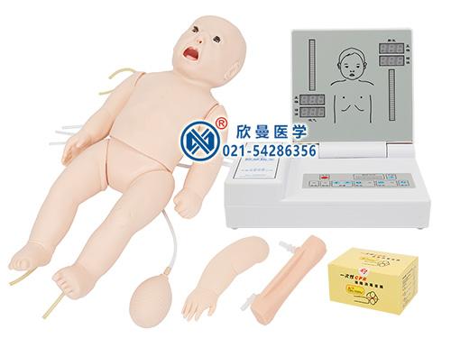 婴儿心肺复苏模型整体结构