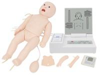 高级全功能婴儿模拟人(急救+护理+听诊)