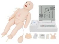 全功能新生儿高级模拟人(急救+护理+听诊+除颤+心电监护)