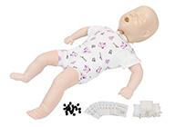 婴儿梗塞模型 婴儿气道阻塞及CPR模型 幼儿窒息模型