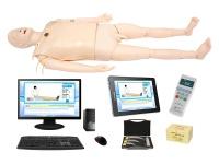 高智能数字化成人综合急救技能训练系统(ACLS 高级生命支持、计算机控制、无线版)