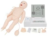 全功能婴儿高级模拟人(急救+护理+听诊+除颤+心电监护)