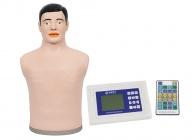 数字遥控式电脑胸部心肺音听诊模拟人
